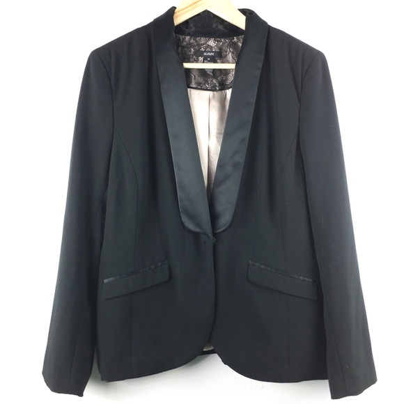 195adde7321 Alfani Tuxedo Jacket with Satin Trim Women's 14. M_5af75eec5521be53d6996e90